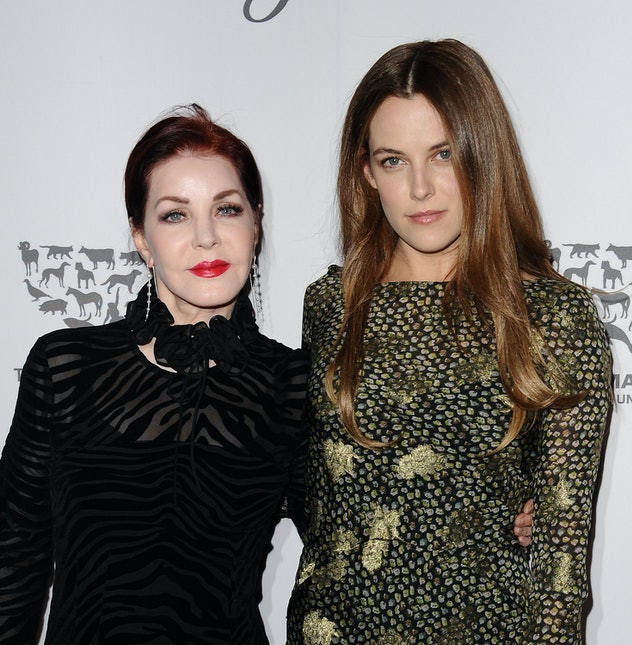 Actress Riley Keough's grandfather is Elvis Presley.