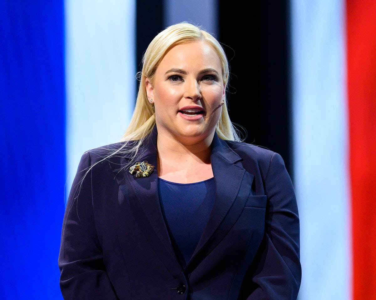 WASHINGTON, DC, UNITED STATES - 2019/03/26: Meghan McCain, TV Host and Author, seen speaking during ...