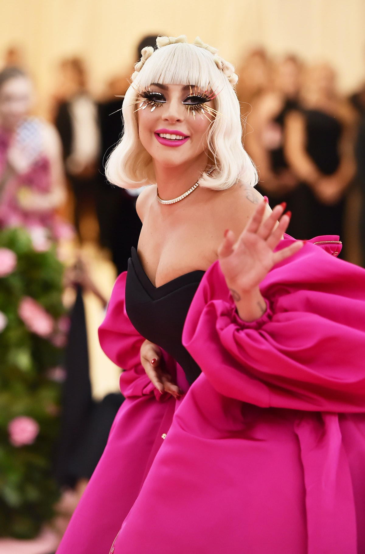 Lady Gaga, who has many relatable quotes about dating, is seen attending The 2019 Met Gala Celebrati...