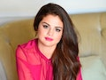 BEVERLY HILLS, CA - FEBRUARY 12:  Recording artist Selena Gomez talks  with The Morning Mash Up on S...