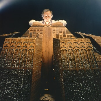 """Douglas Trumbull on the set of """"Blade Runner"""". (Photo by Sunset Boulevard/Corbis via Getty Images)"""
