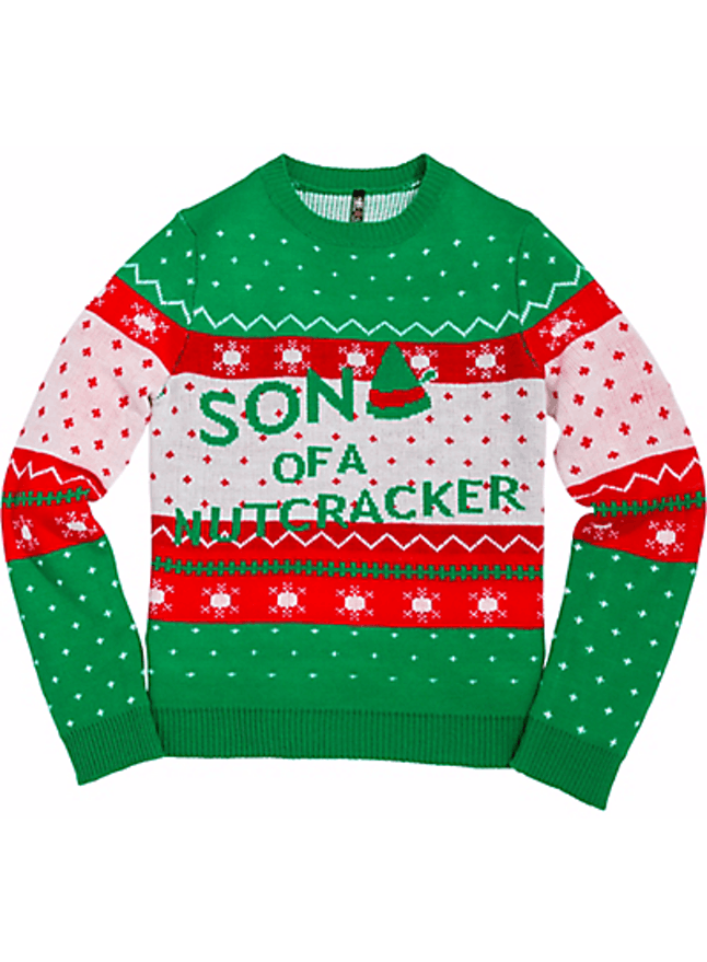 11 Pop Culture Inspired Ugly Christmas Sweaters That Will Make Your
