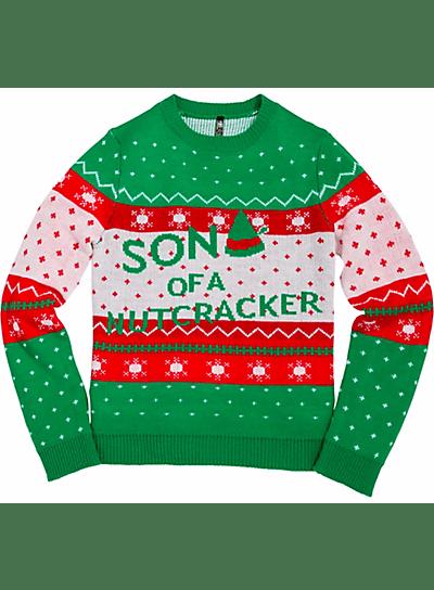 1son of a nutcracker sweater son of a nutcracker ugly christmas - Homemade Ugly Christmas Sweaters