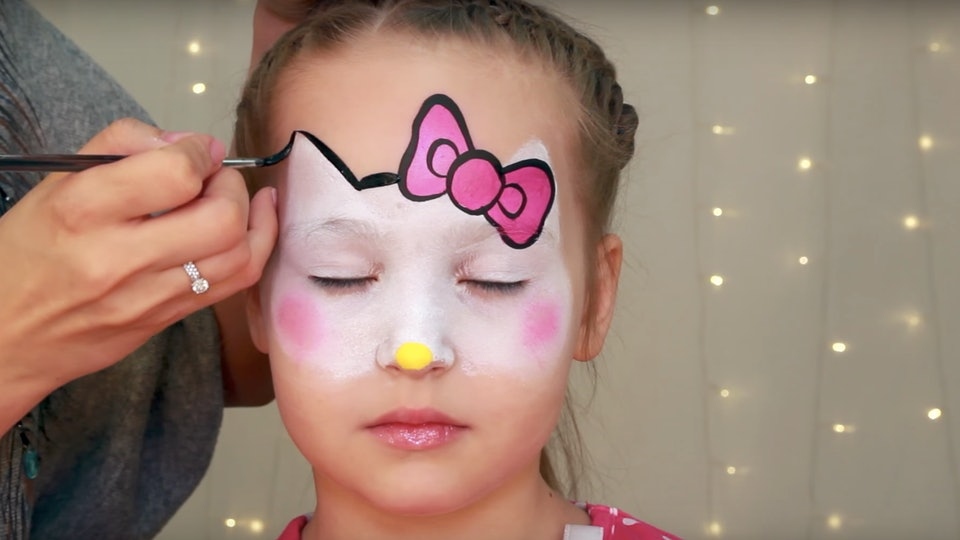 8 easy halloween face paint ideas for kids that dont even need costumes