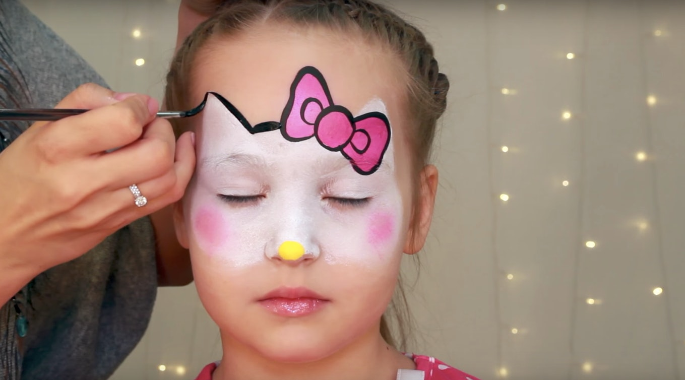 8 Easy Halloween Face Paint Ideas For Kids That Donu0027t Even ...