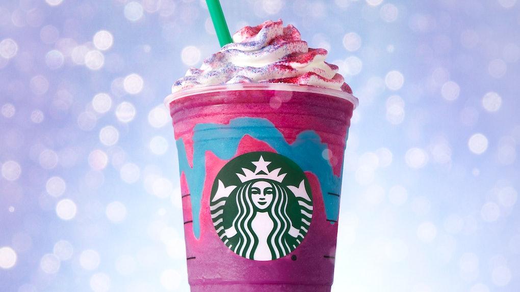Diy Starbucks Unicorn Frappuccino Halloween Costume Ideas