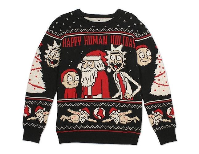happy human holiday ugly christmas sweater 60 walmart - Ugly Christmas Sweaters At Walmart