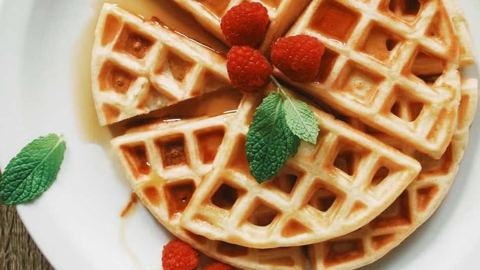 This Waffle Recipe For One Person Will Make You Wonder Why You Don't