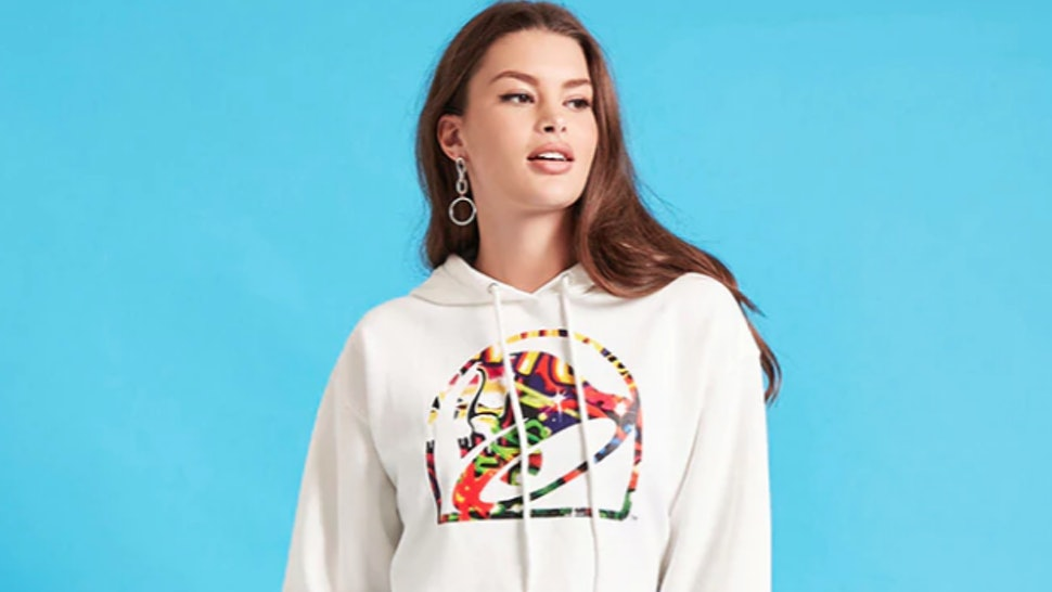 0a722dc86 What's In The Taco Bell x Forever 21 Collection? It Just Dropped & It's  Straight Fire Sauce