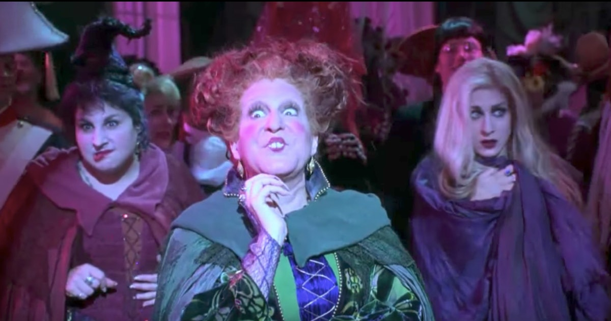 hocus pocus drinking game will give your scary movie night some