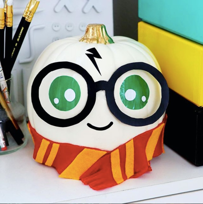 These Harry Potter Pumpkins Are The Cutest Diy Halloween Decorations You Ll See All Year
