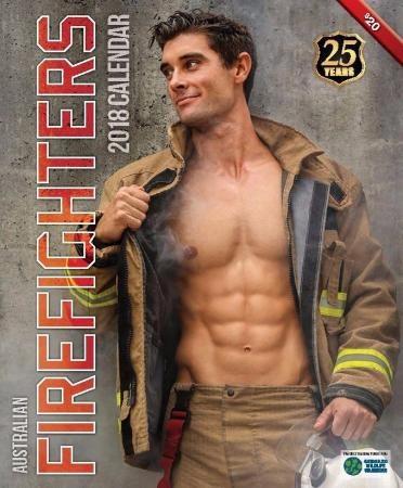 Sexy firefighter calendar