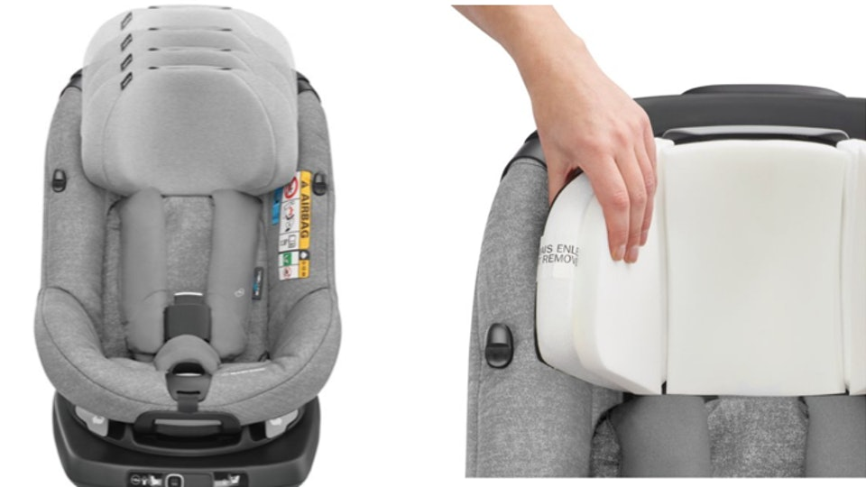 This Car Seat With Built In Airbags Could Be A Total Game Changer For Parents Of Toddlers