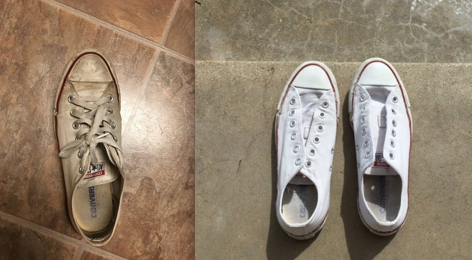 How Do You Clean White Shoes? This