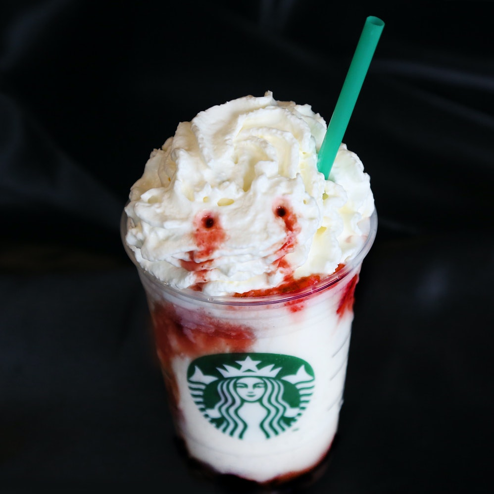 How To Order The Franken Frappuccino From Starbucks Spooky Secret Menu
