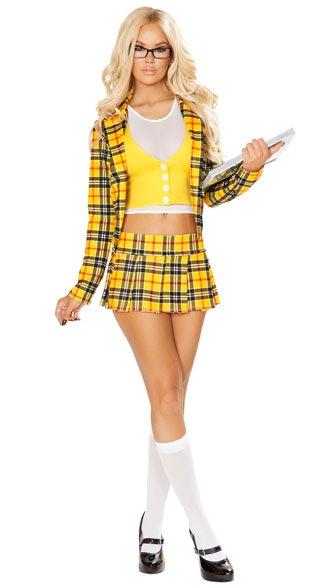 2. Crop Top  sc 1 st  Bustle & Alicia Silverstoneu0027s u0027Cluelessu0027 Outfit Is The Halloween Inspiration ...