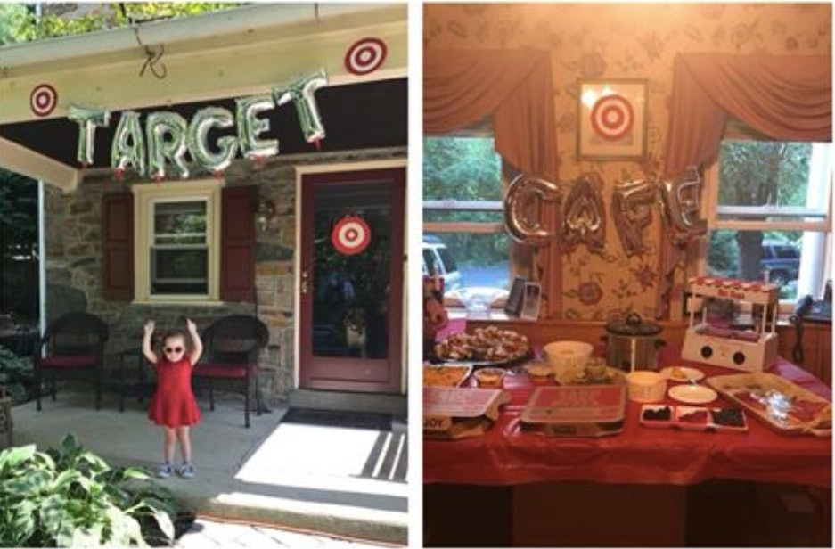 This 3YearOlds TargetThemed Birthday Party Is Honestly Grown