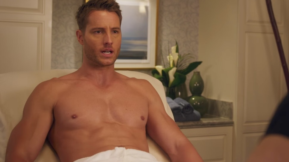 Bad Moms Christmas Gif.Justin Hartley In A Bad Moms Christmas Is A Total Nsfw