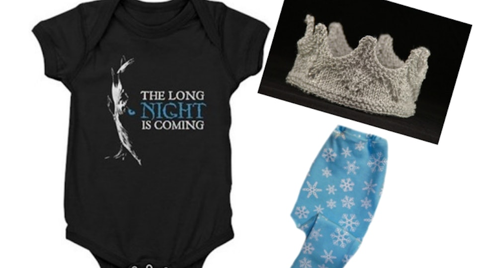 5 'Game of Thrones' Night King Halloween Costumes For Babies From Beyond The Wall