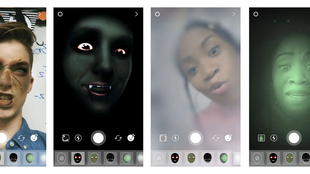 How To Use Halloween Instagram Filters For A Spooky Story