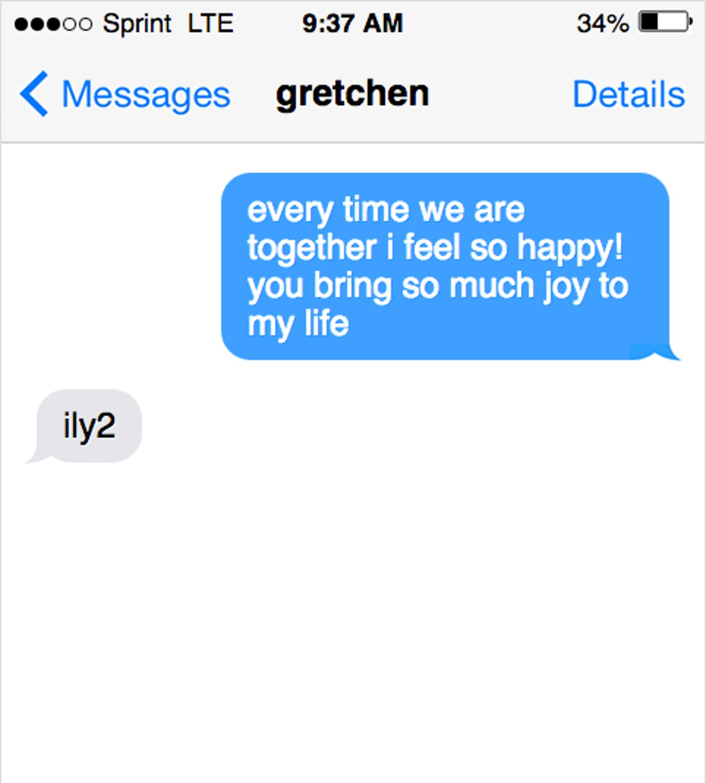 Should you text a man