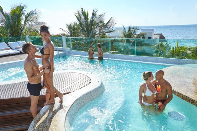 Desire Riviera Maya is one of the top vacation spots for sexually adventurous couples.