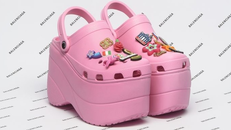 dc37b7cad965 Balenciaga Platform Crocs Are The Most Unexpected High-Low Collab Ever