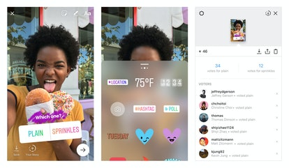When you're creating an Instagram poll, you can ask your followers just about anything.