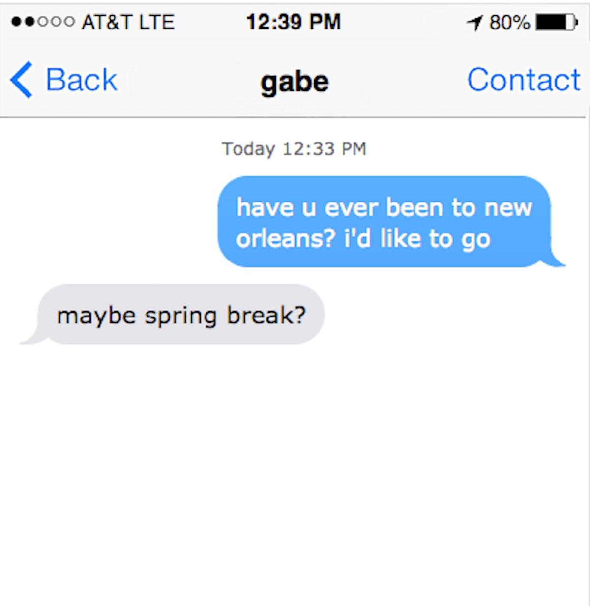 Random things to text