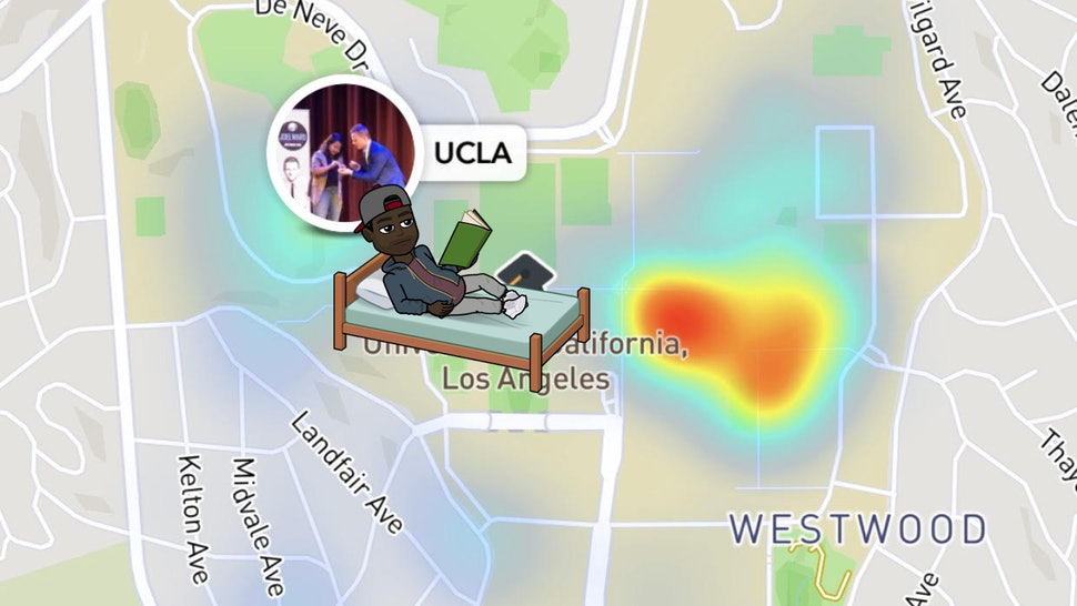 What Colleges Have Snap Map Actionmojis On Snapchat? This New