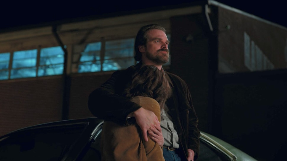 c0990f37d Will Joyce & Hopper Ever Get Together On 'Stranger Things'? David Harbour  Won't Rest Until They Do