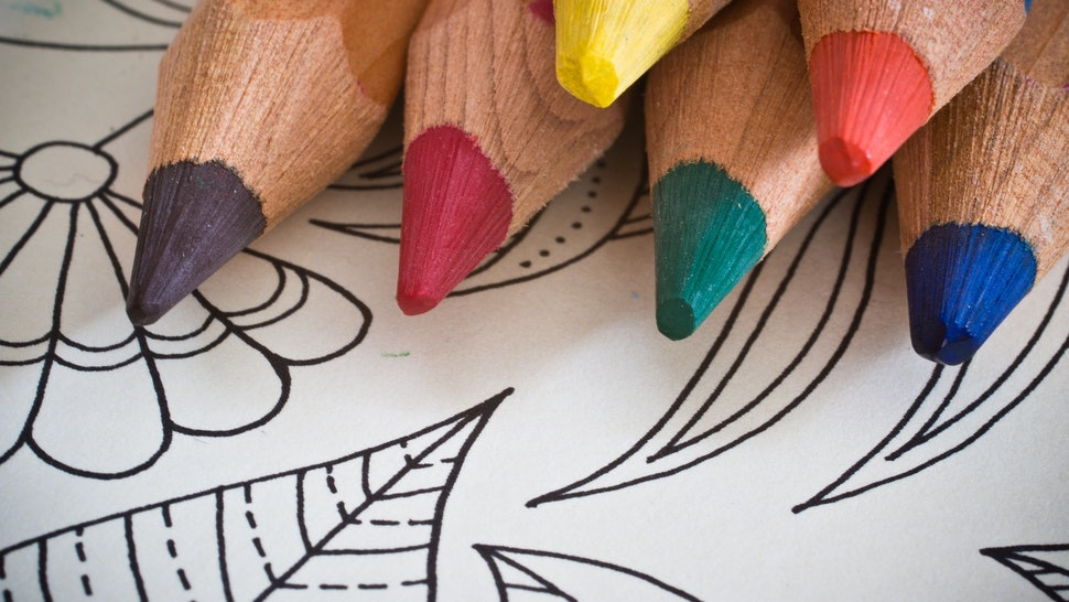 Adult Coloring Books Are Actually Really Good For Your Mental Health ...