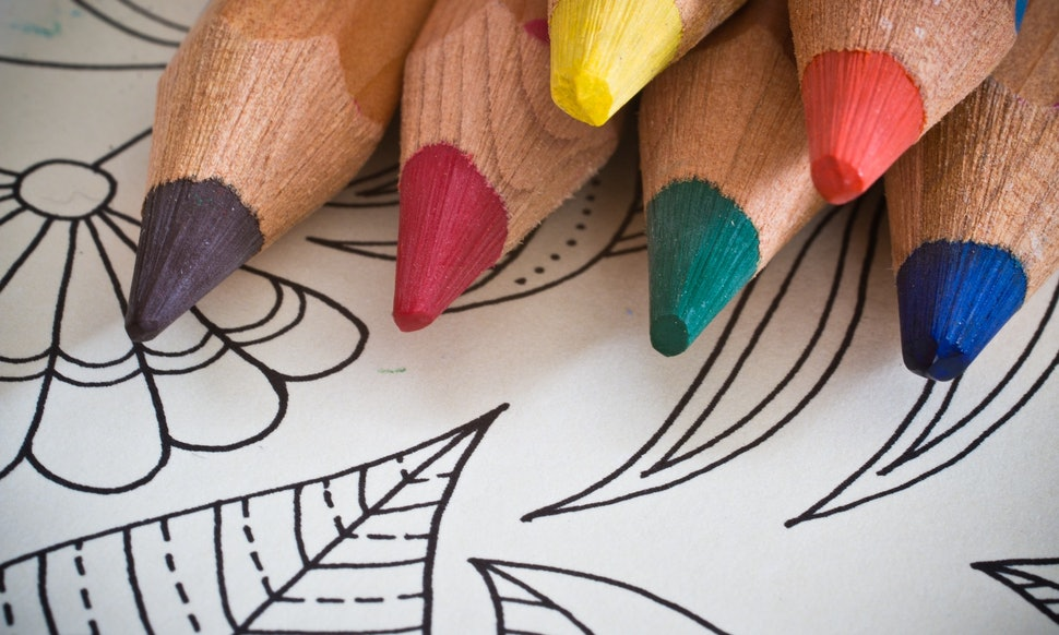 Adult Coloring Books Are Actually Really Good For Your Mental Health According To A New Study