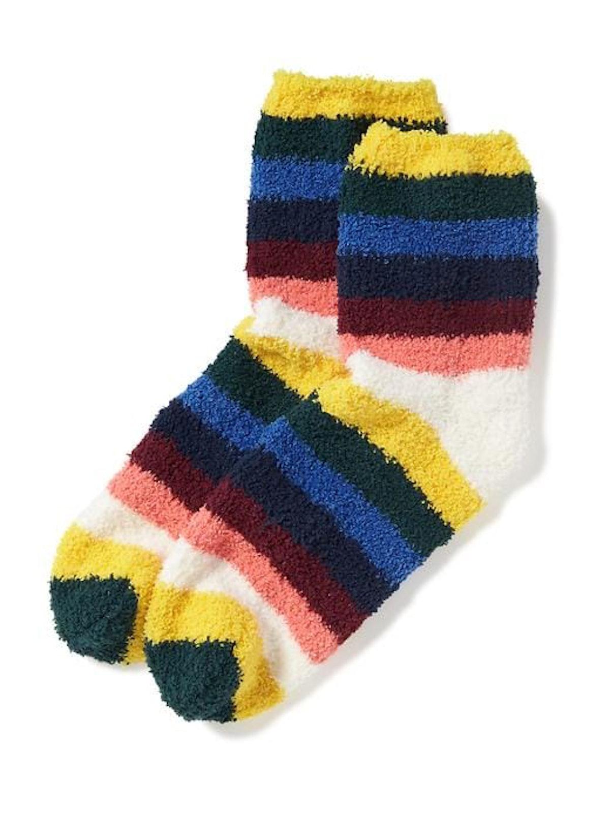 Chenille Bold Multistripe Socks