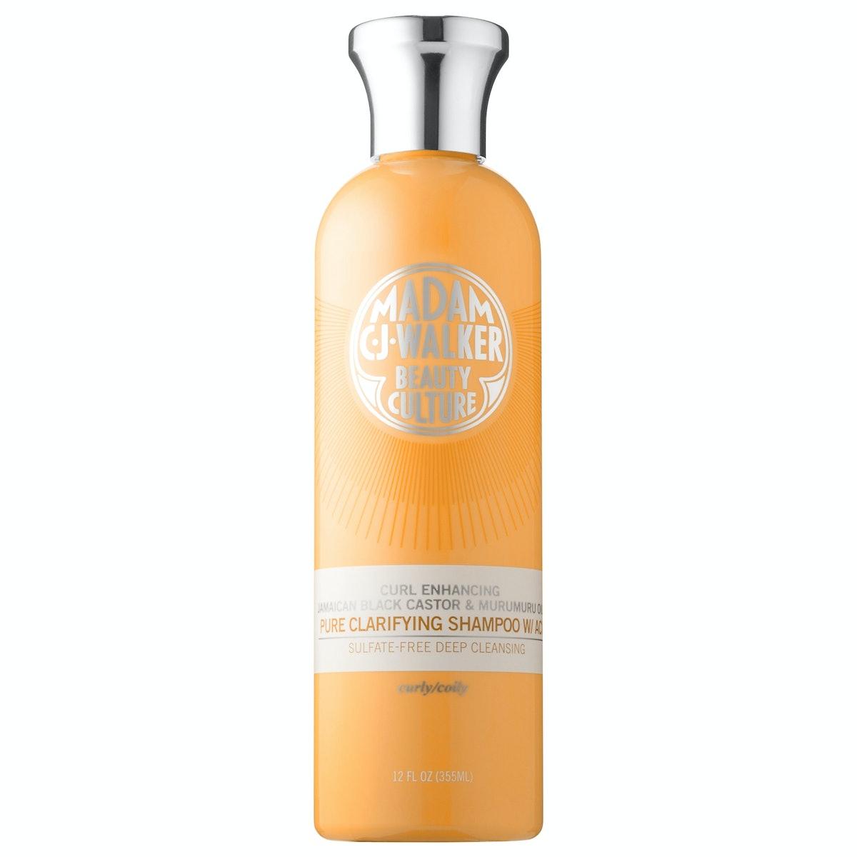 Madam C.J. Walker Beauty Culture Jamaican Black Castor & Murumuru Oils Pure Clarifying Shampoo with ...