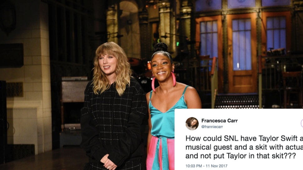 Why Didn't Taylor Swift Do Any 'SNL' Sketches? She Focused