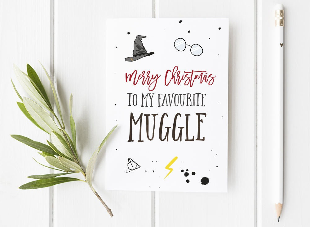 Harry Potter Christmas Card Ideas.11 Literary Holiday Cards That Will Add Some Bookish Joy To