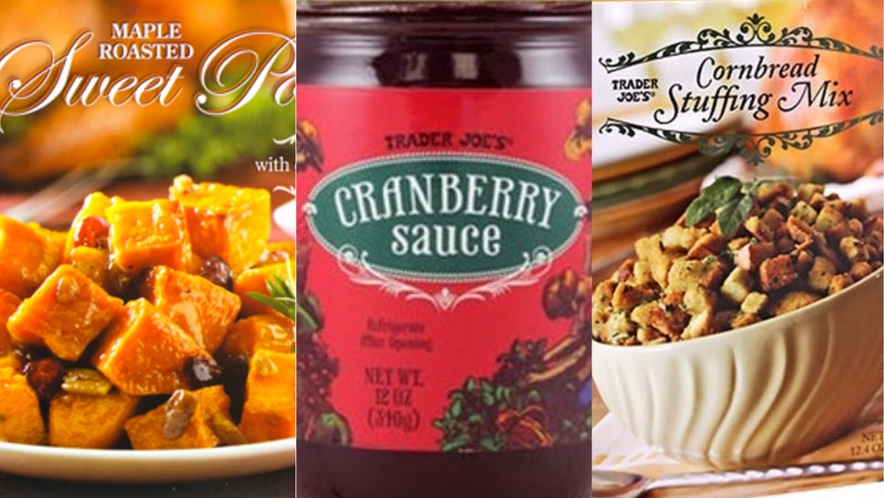 11 Trader Joes Items For Thanksgiving That Everyone Will Be Talking