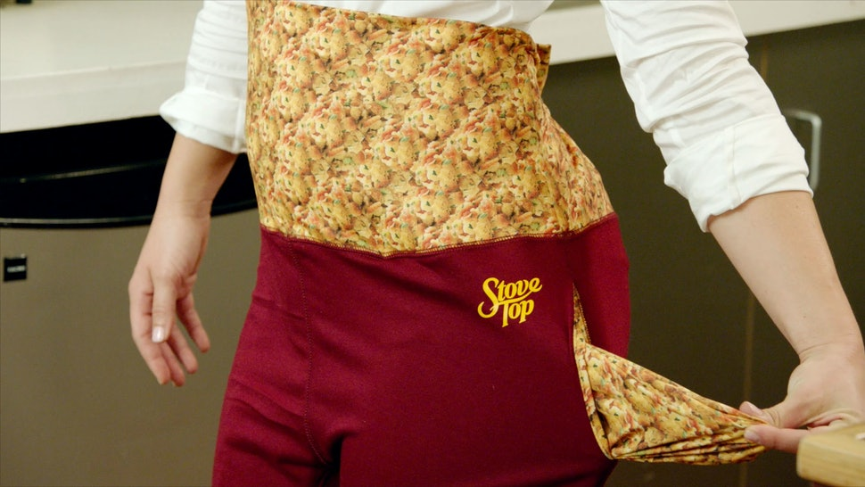 stove top stuffing created thanksgiving dinner pants because tis