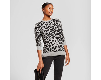 Women's Allover Animal Any Day Pullover - A New Day