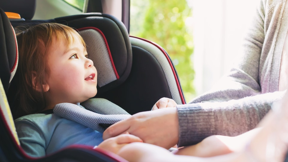 What Car Seat Straps Should Look Like According To The AAPs Guidelines