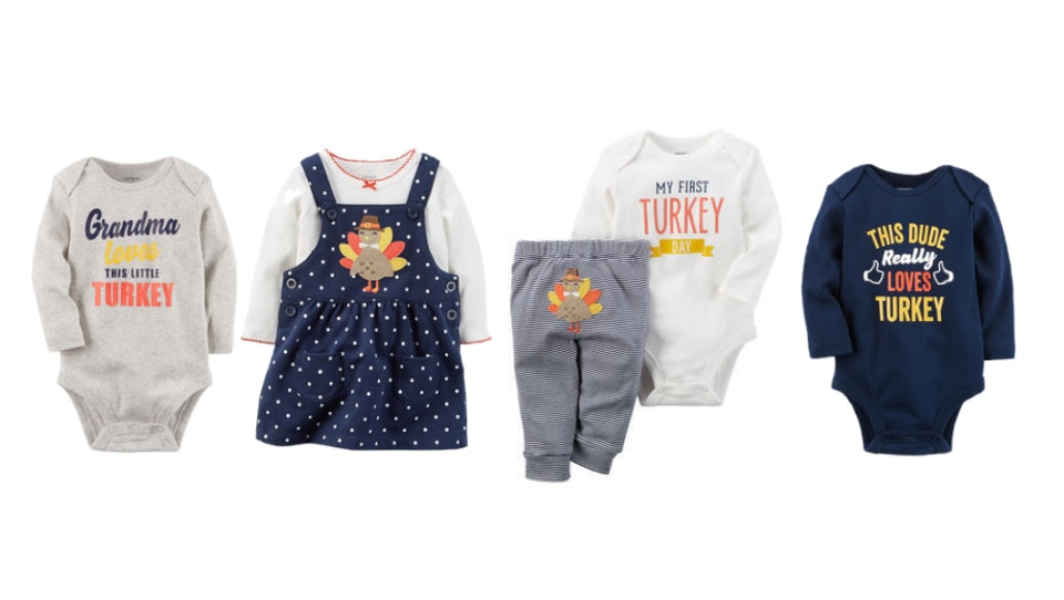 These Adorable First Thanksgiving Outfits For Babies Are Perfect For