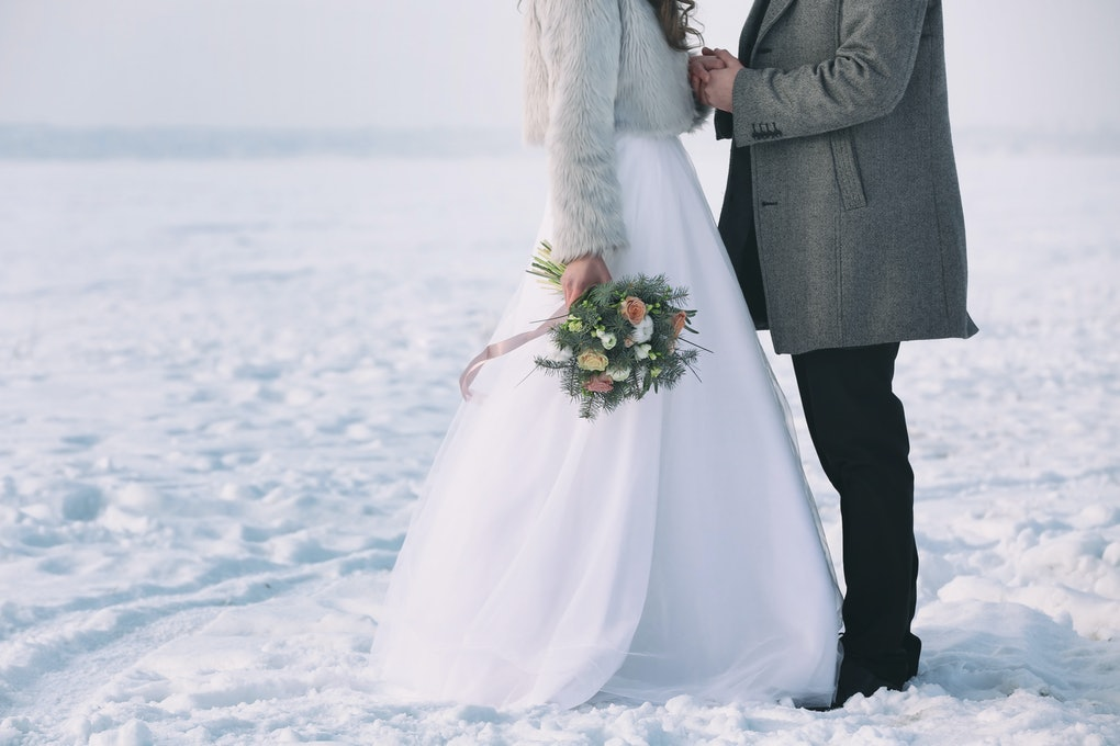 7 Christmas Wedding Dresses That Are So Enchanting You Ll Feel Like