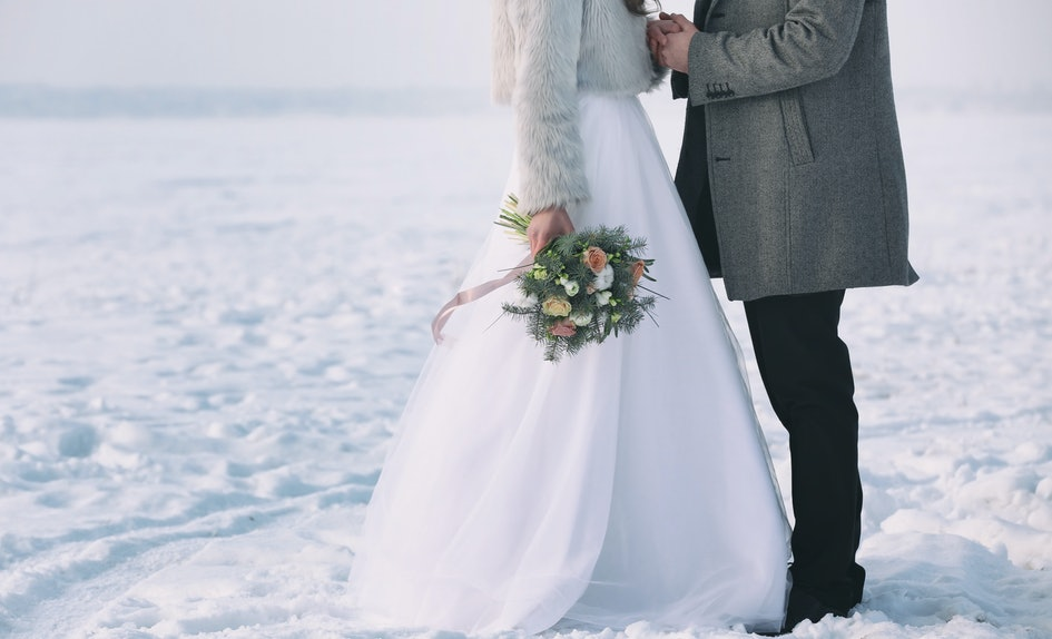 7 christmas wedding dresses that are so enchanting youll feel like a disney princess