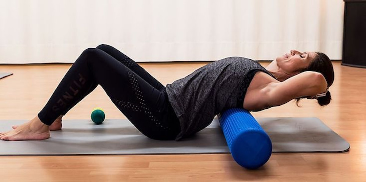 5 Foam Roller Stretches You Need To Know About If Your Back Is Always Sore