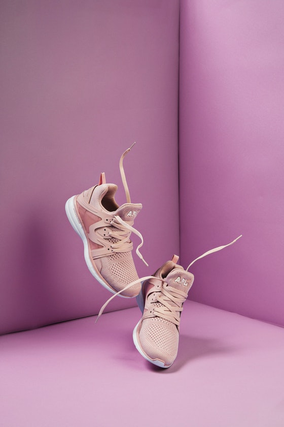 Ascend Dusty Rose/White Sneakers