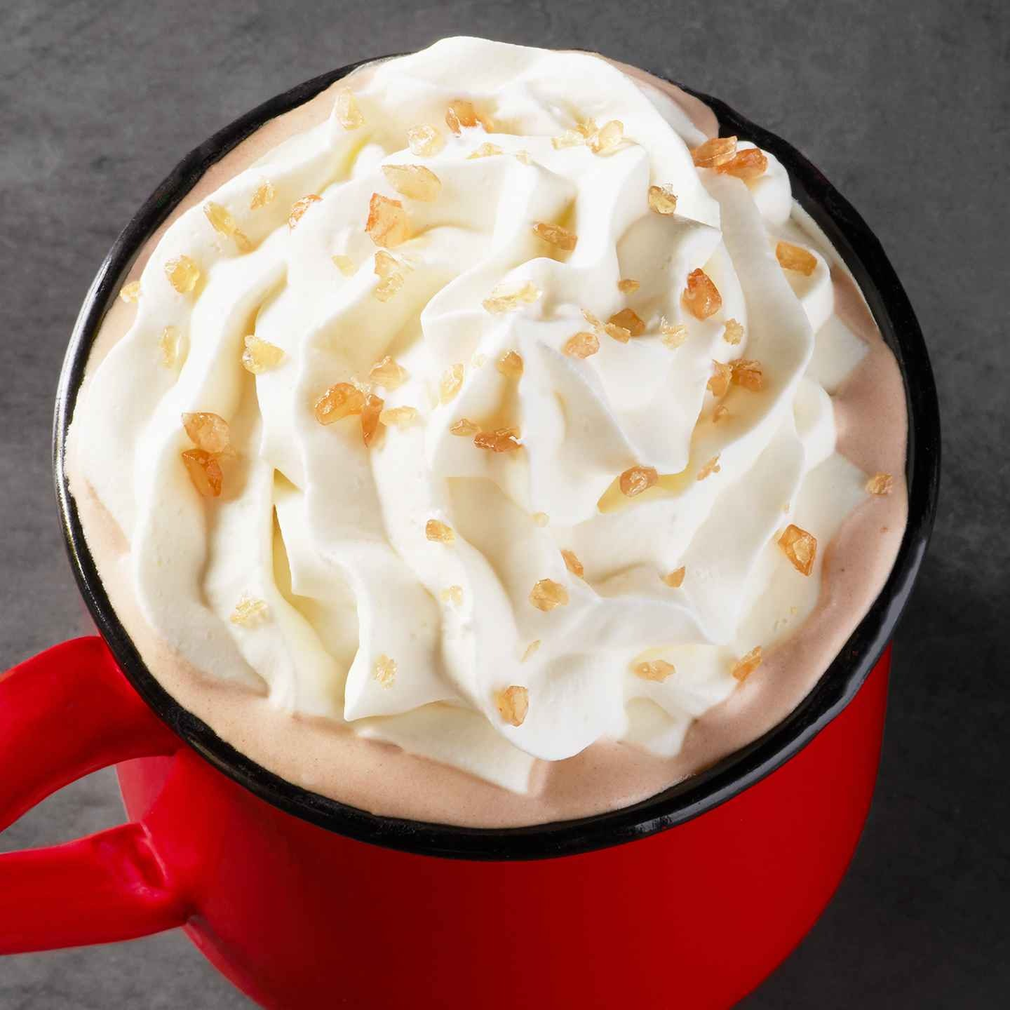 What\'s In Starbucks\' Toffee Almondmilk Hot Chocolate? This New ...