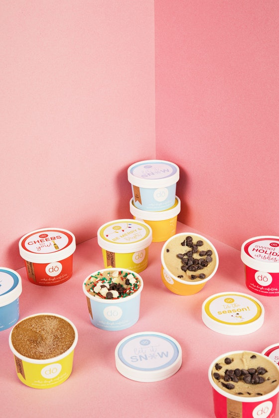 DŌ, Cookie Dough Confections Happy Holidays 4-Pack