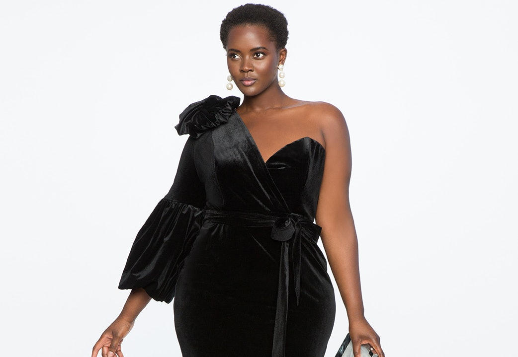 f5779dd8b272 57 Plus-Size Holiday Dresses That Will Make You Look Forward To Seeing Your  Family