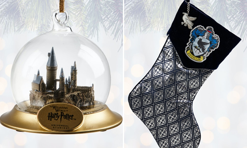 heres all the harry potter christmas decorations you can buy at wizarding world - Harry Potter Christmas Decorations